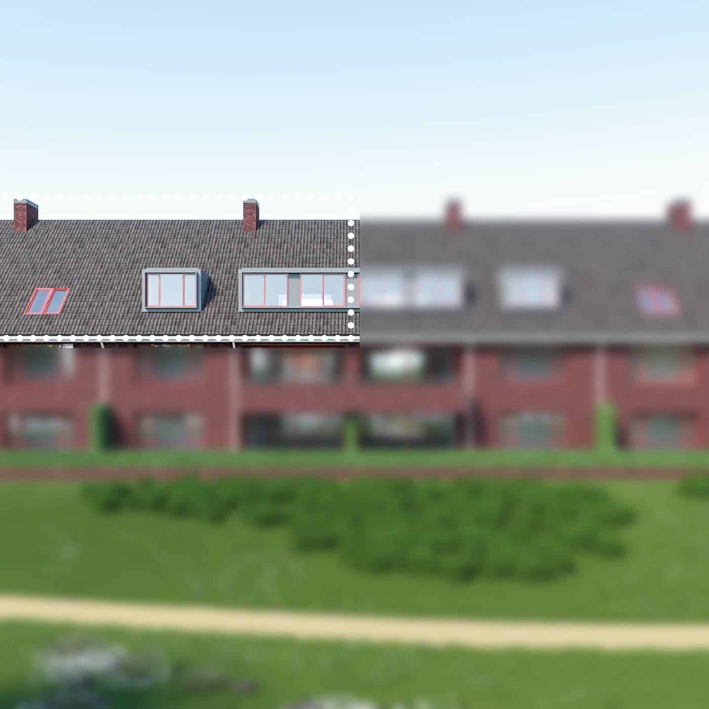 Buitengoed Beelden Aanzicht Stippellijn Lichtval28 E Front