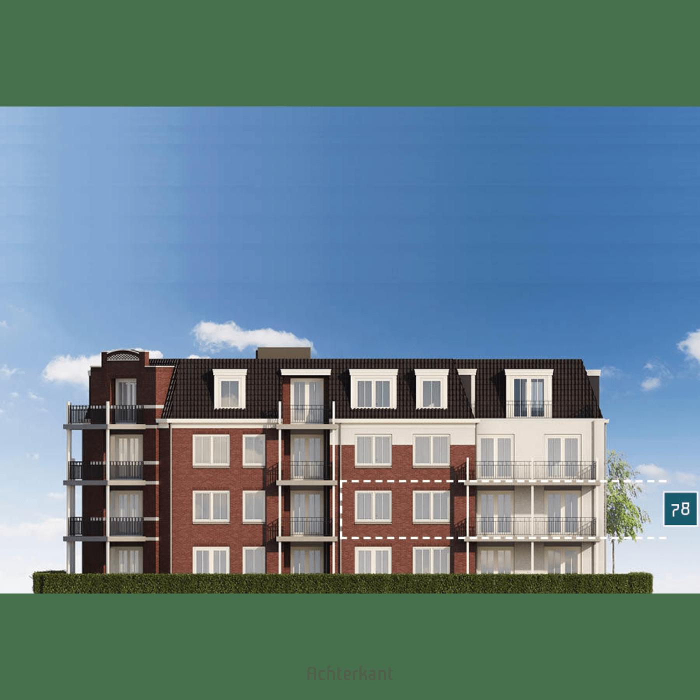 Huisdetail Appartementen 78