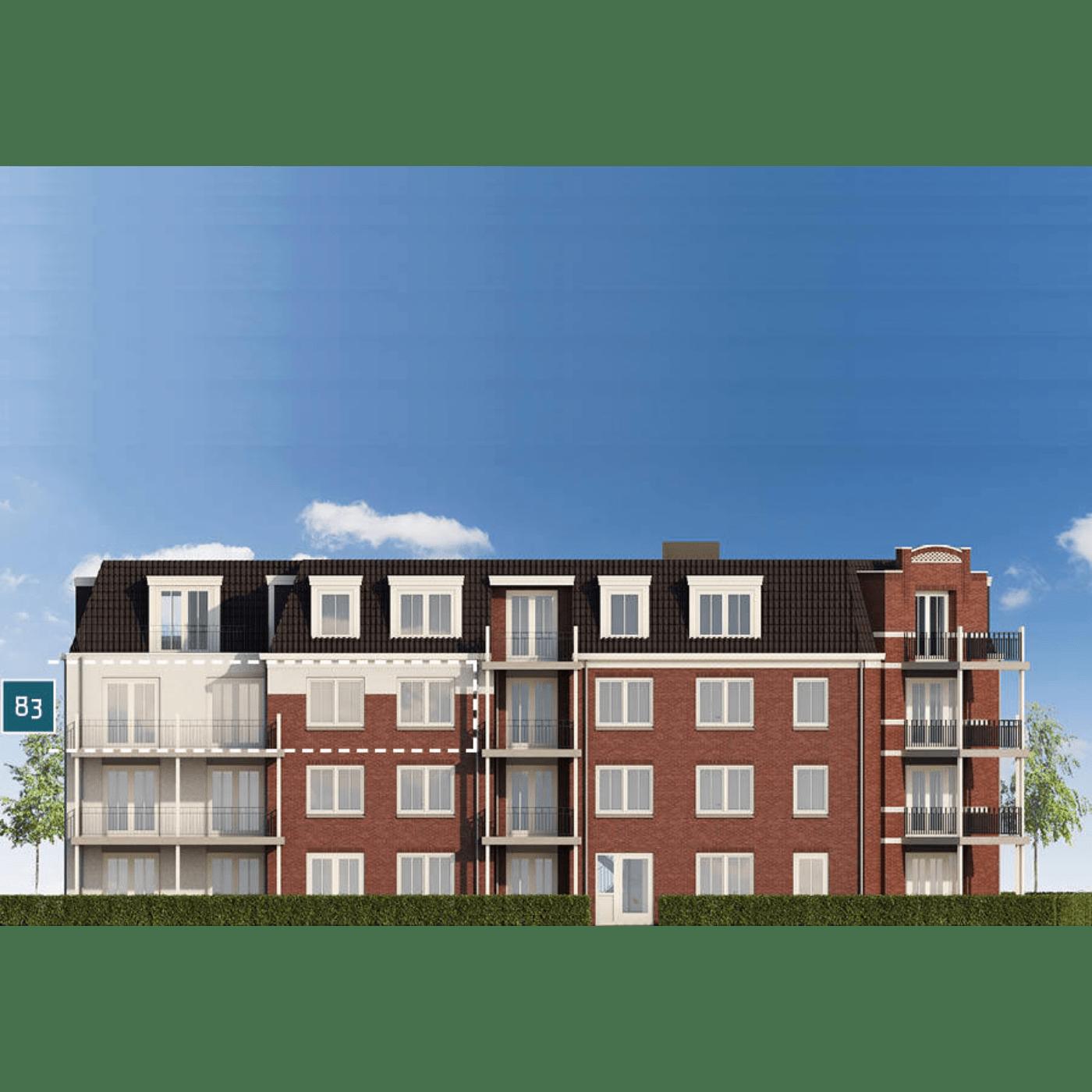 Huisdetail appartement 83