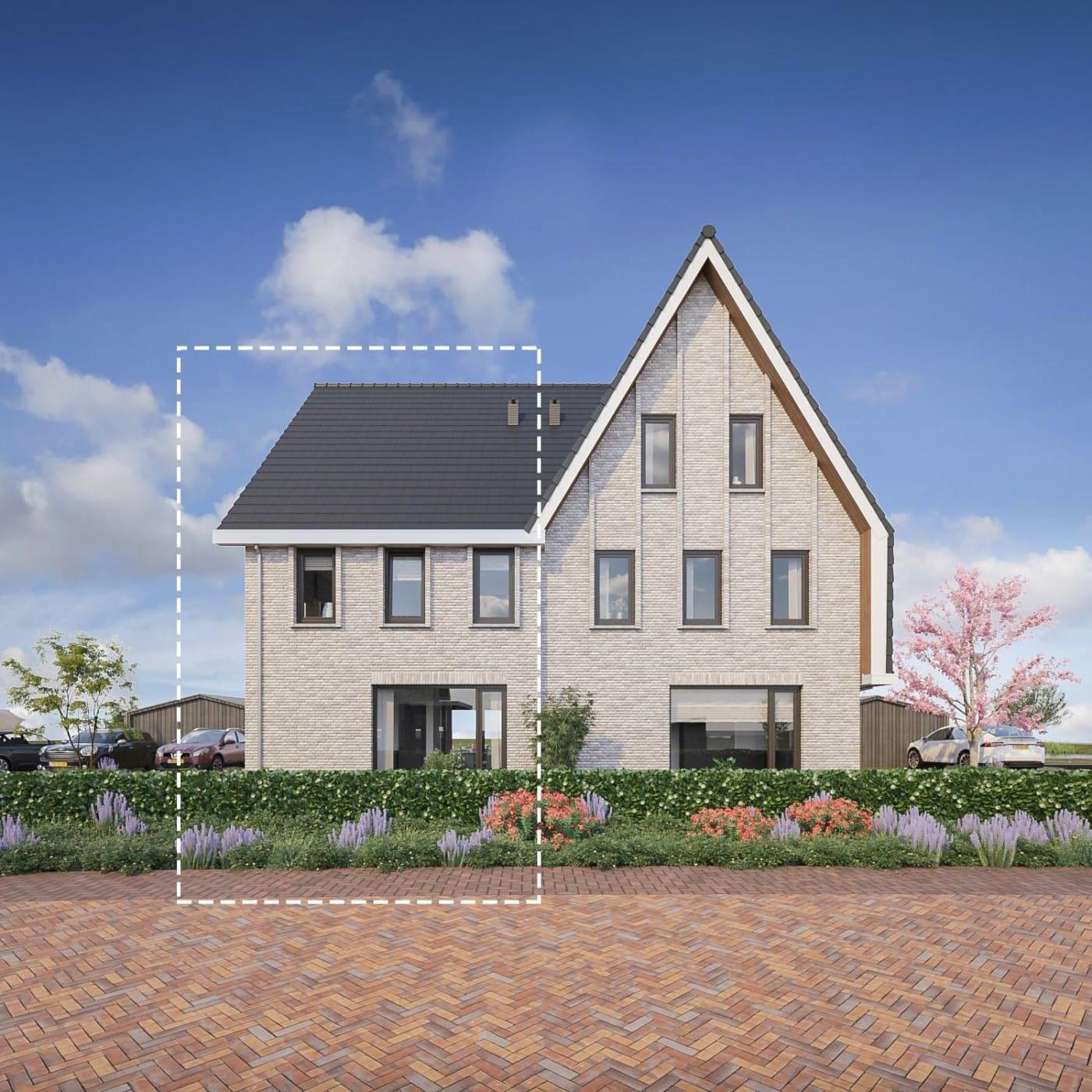 Zomerbries Huizen Detail bouwnummers 4 en 14