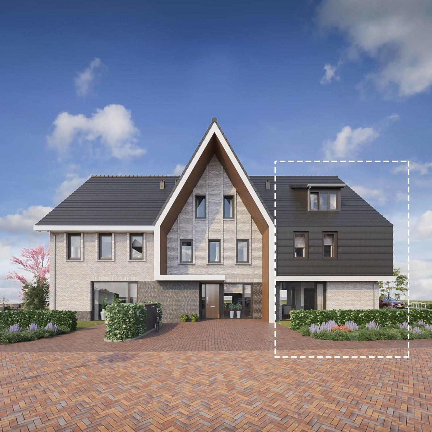 Zomerbries Huizen Detail bouwnummers 5 8 en 19