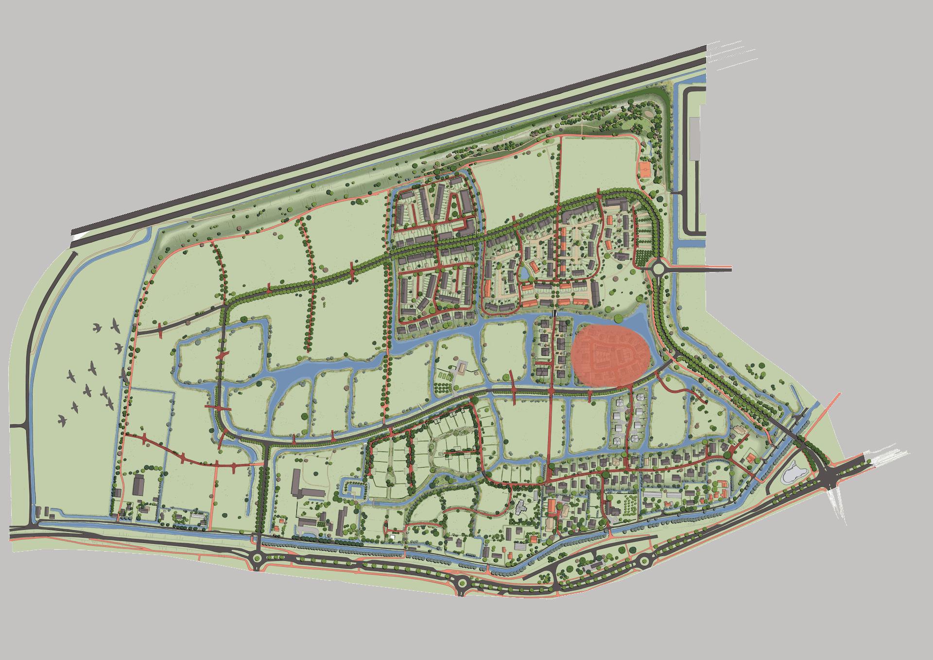 Plankaart Eiland 2021