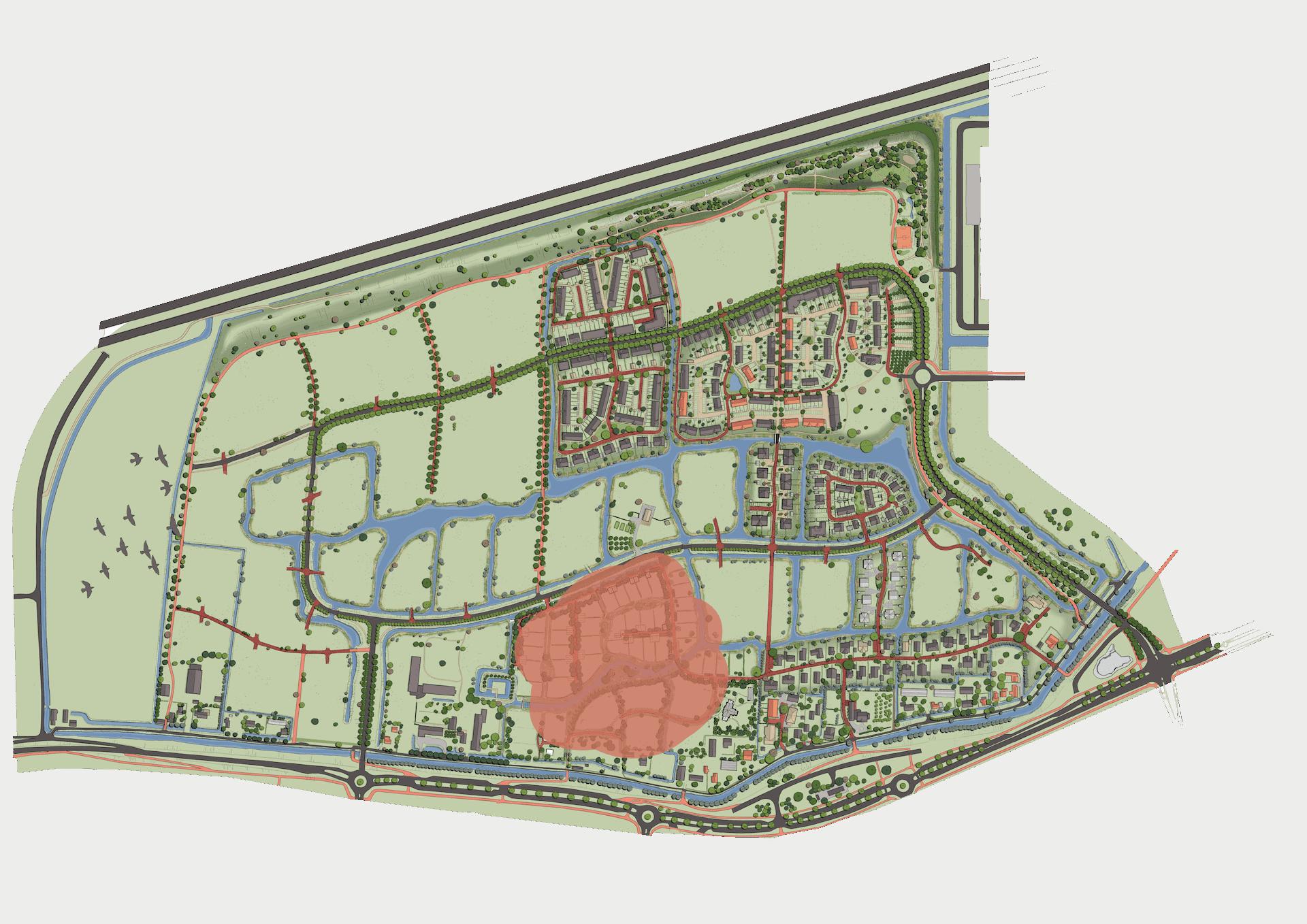 Plankaart Goedland 2021
