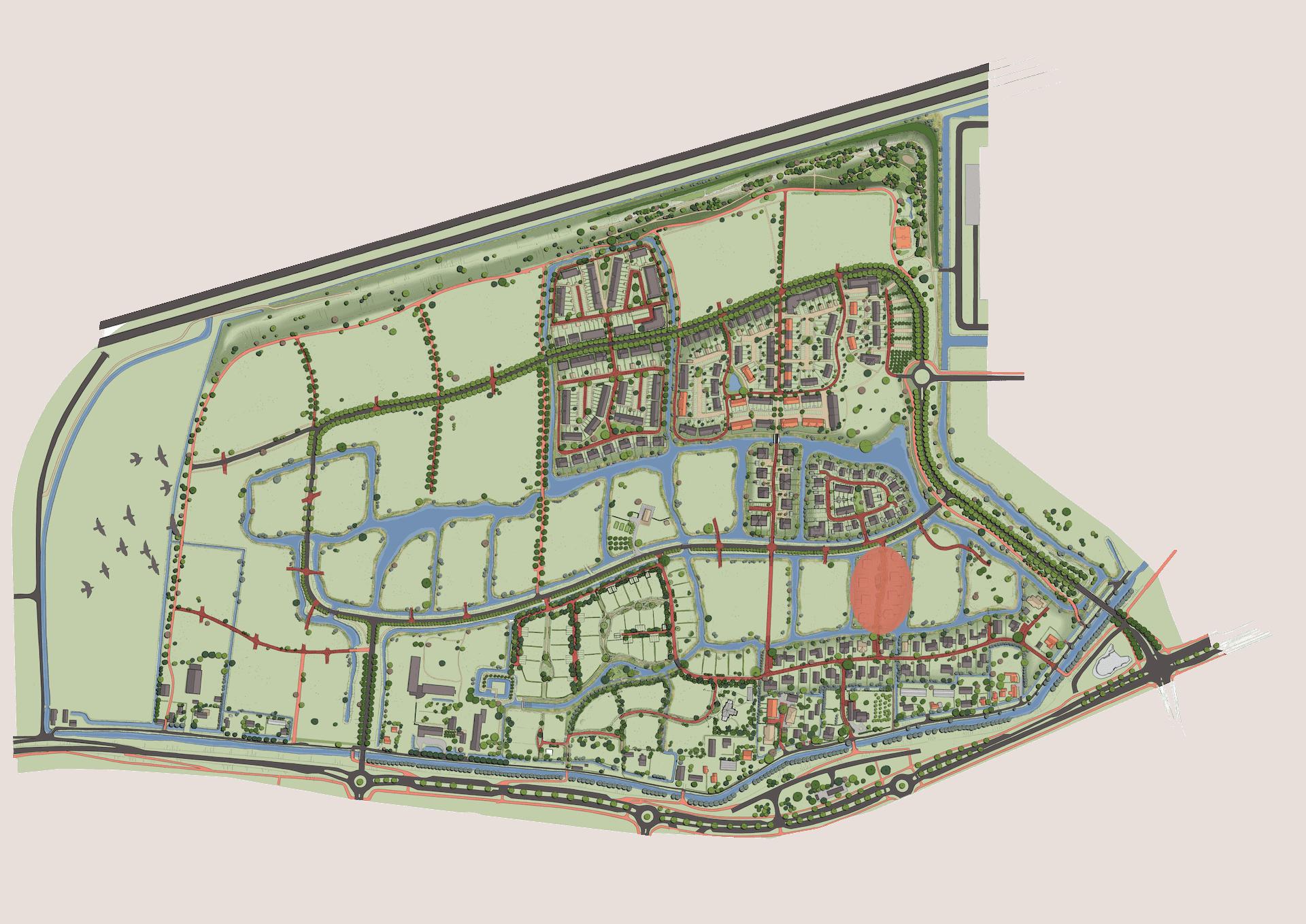 Plankaart Kompas 2021
