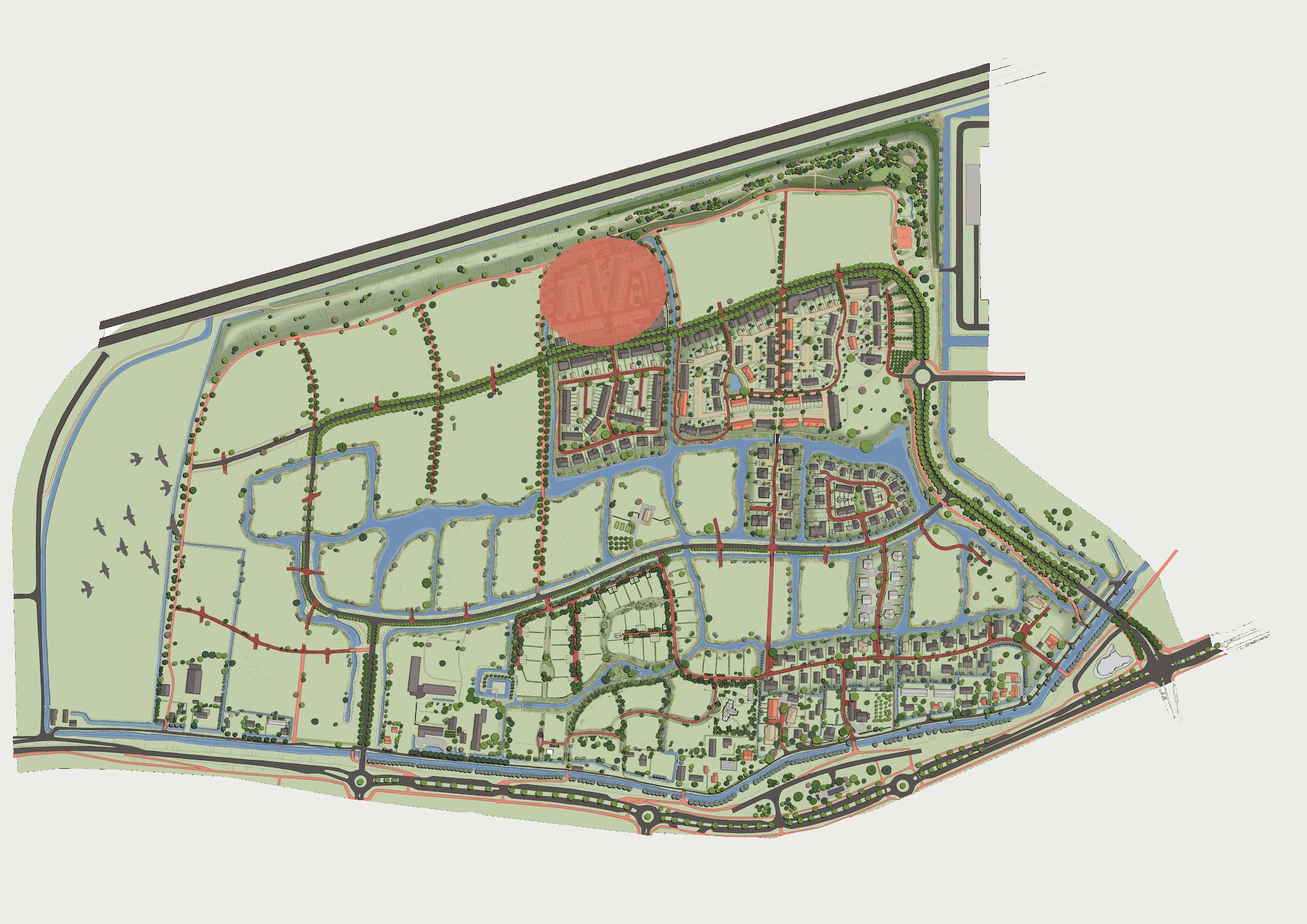 Plankaart Parksingel April 2021
