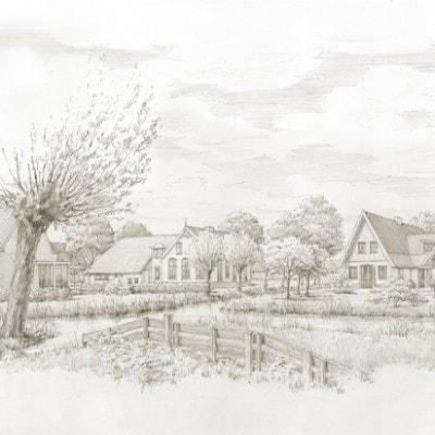 De omgeving Weverskade